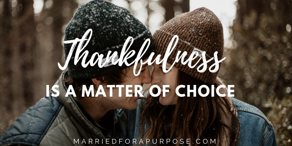 WHAT DO YOU DO WHEN YOU KNOW YOU SHOULD BE THANKFUL BUT AREN'T?