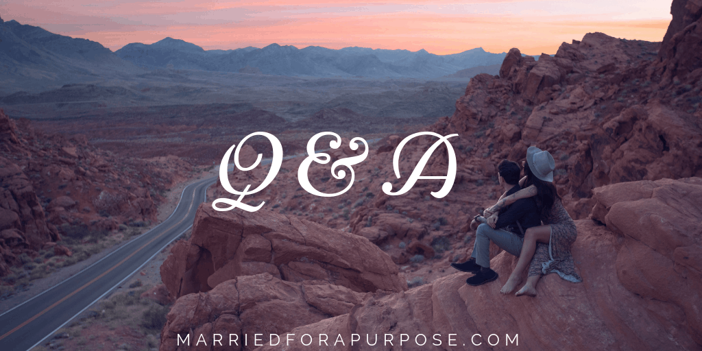 Q & A: What do you do to get yourself out of a dark place?